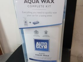 Autoglym Rapid Aqua Wax complete kit New