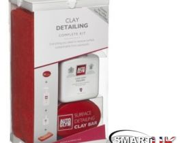 Autoglym Surface Detailing Clay Bar Kit Includes Detailer, Polish Complete Kit
